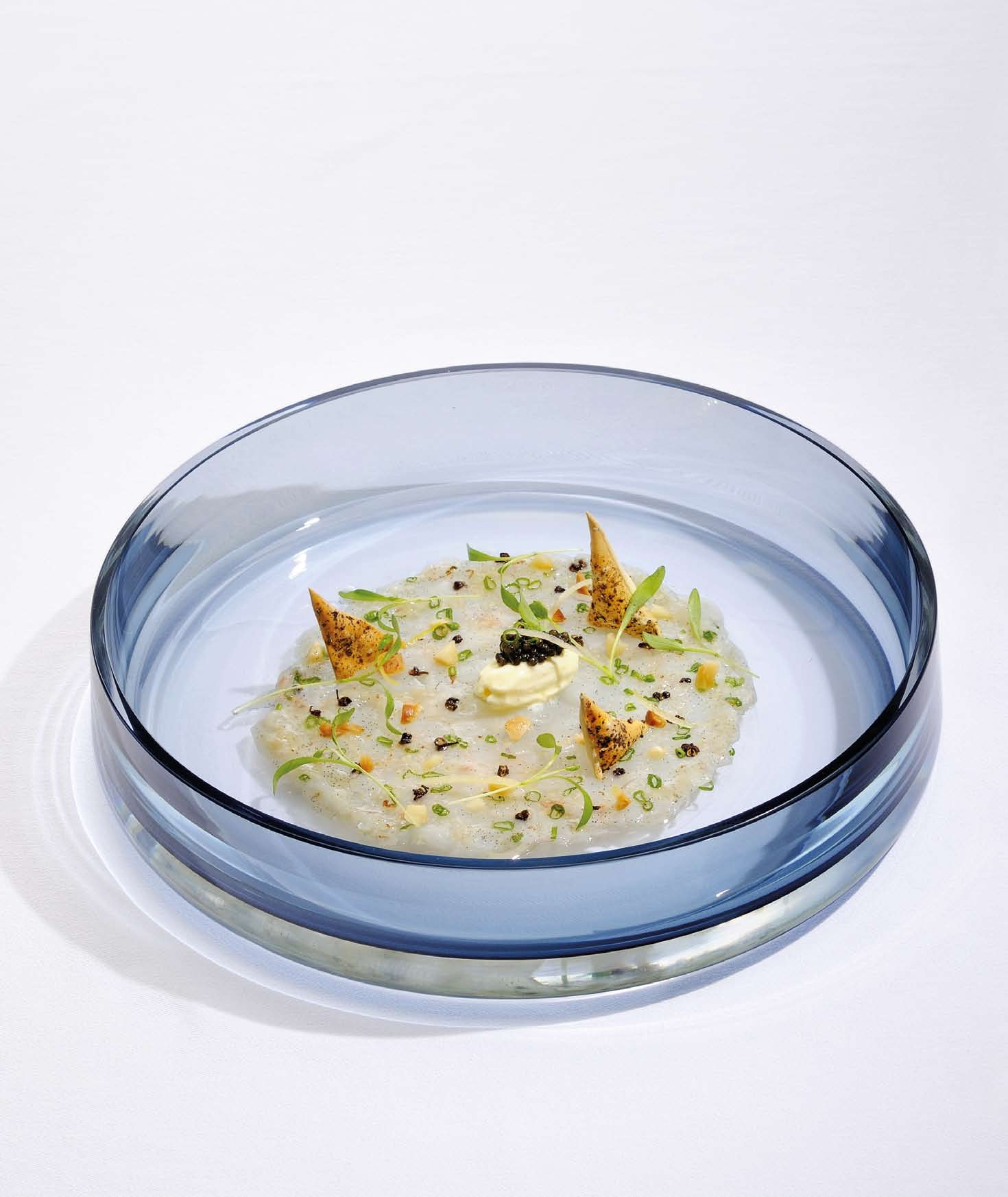 DAMAN Recipe Gindara Carpaccio in Macadamia