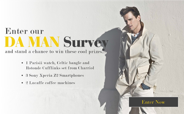 Enter Our DA MAN Survey