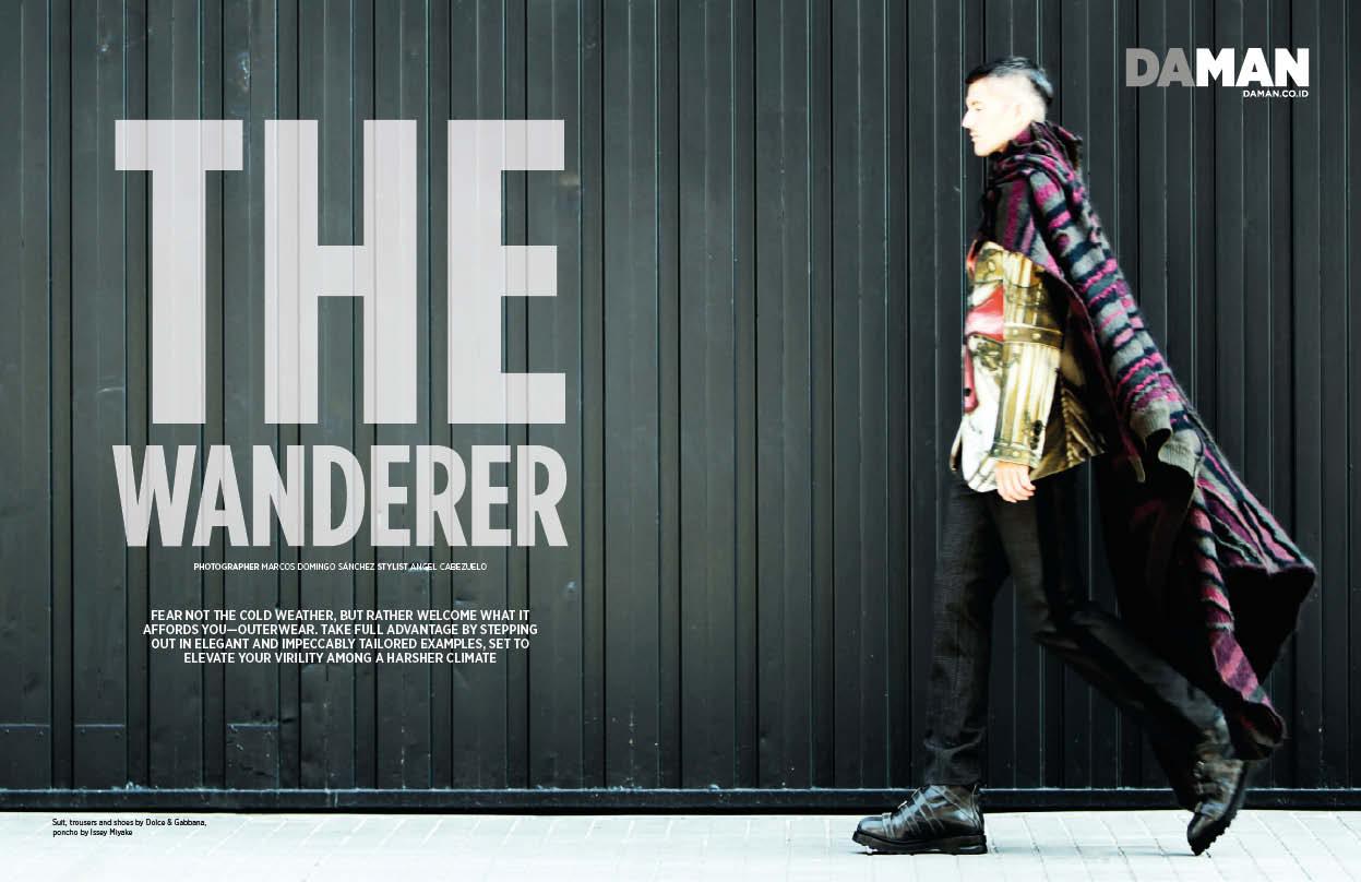 Daman Fashion Spread The Wanderer 1