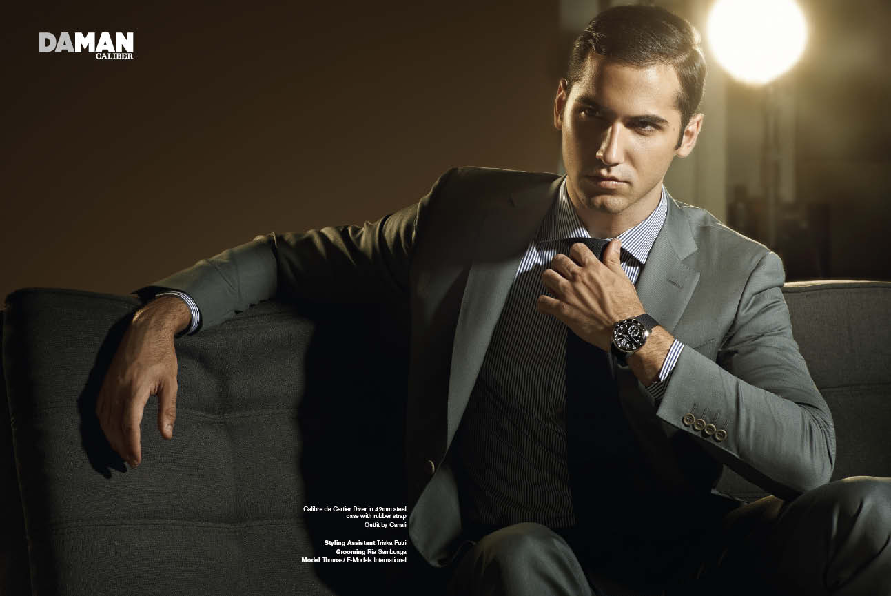 Da Man Style Watch Spread Cartier Watch Collection Da Man Magazine