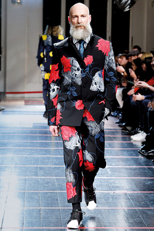 Daman style Column Paris Fashion Week 5