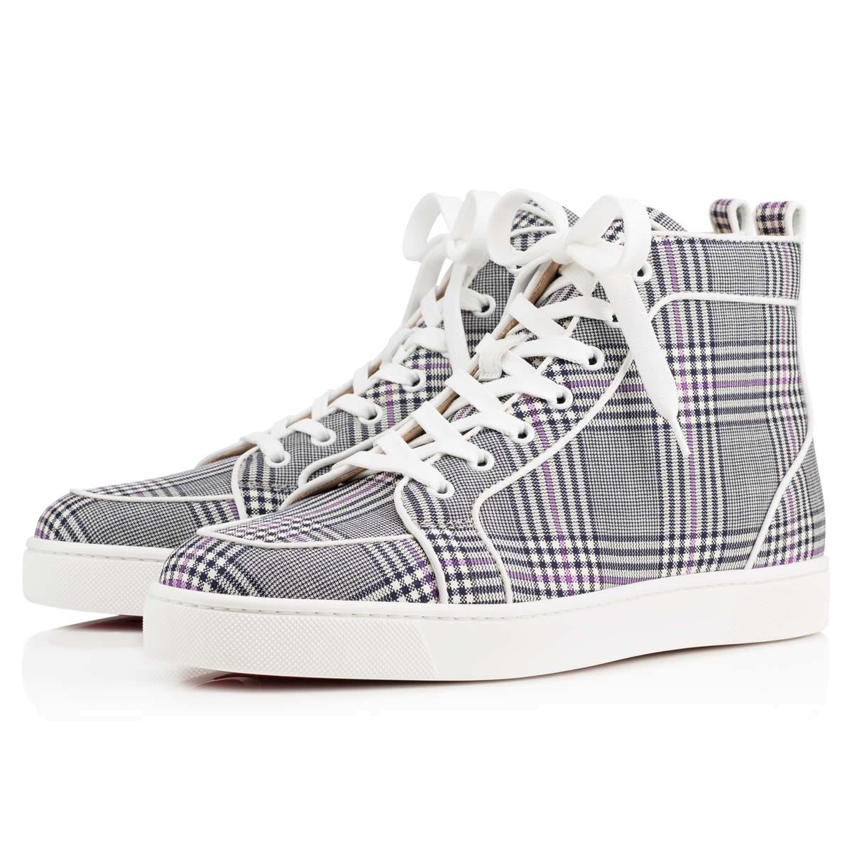 Christian Loubutin Tartan Shoes Rantus Orlato
