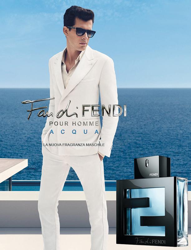 Fan di Fendi pour Homme Acqua Official Ad Campaign