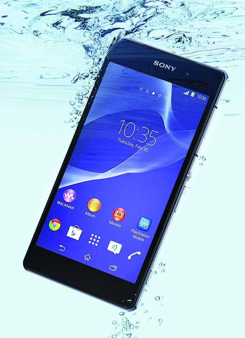 online retailer de300 639b0 Gadget: Fully Waterproof SONY Xperia Z2 Android Smartphone Fits Your ...