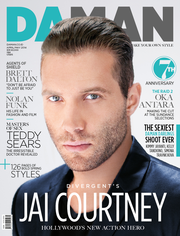 Jai Courtney Cover