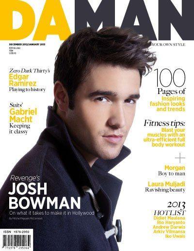 Josh Bowman Cover