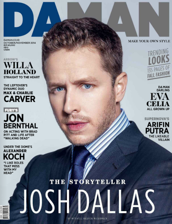 Josh Dallas Cover