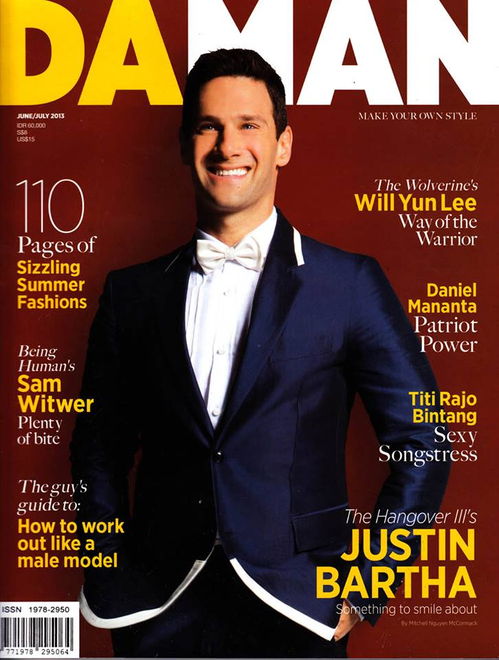 Justin Bartha Cover