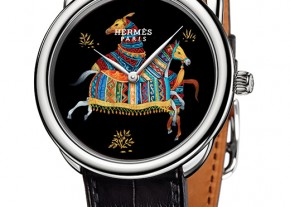 Hermes Watch Arceau Cheval d'Orient DAMAN