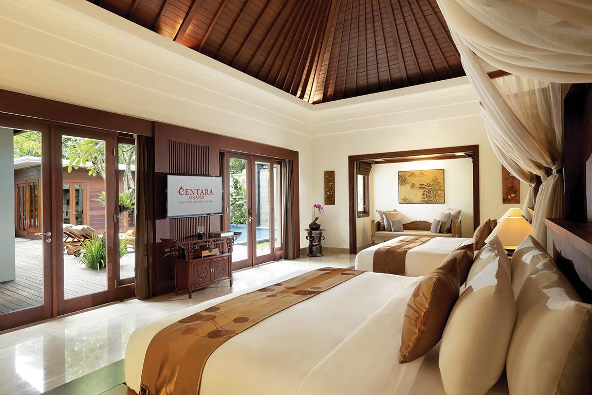 Centara Grand Villas Nusa Dua DA MAN Travel Bedroom