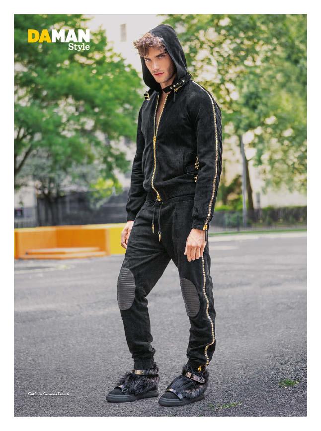 Aurelien Muller Feature Fashion Spread DAMAN