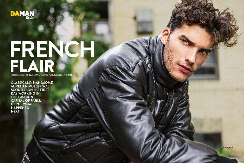 Aurelien Muller Feature Fashion Spread DAMAN