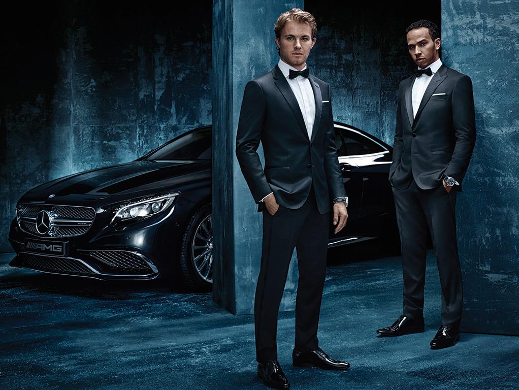 DAMAN News Mercedes AMG Petronas and Hugo Boss