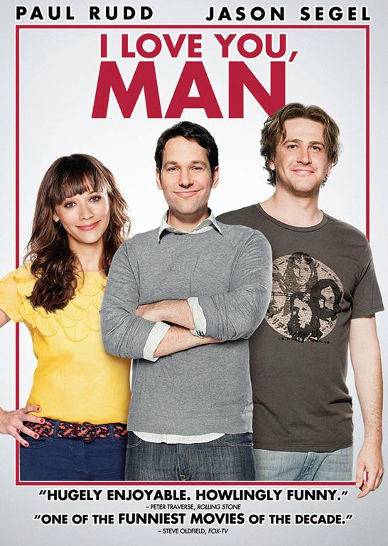 DVD DAMAN Holiday Heartwarmers I Love You Man