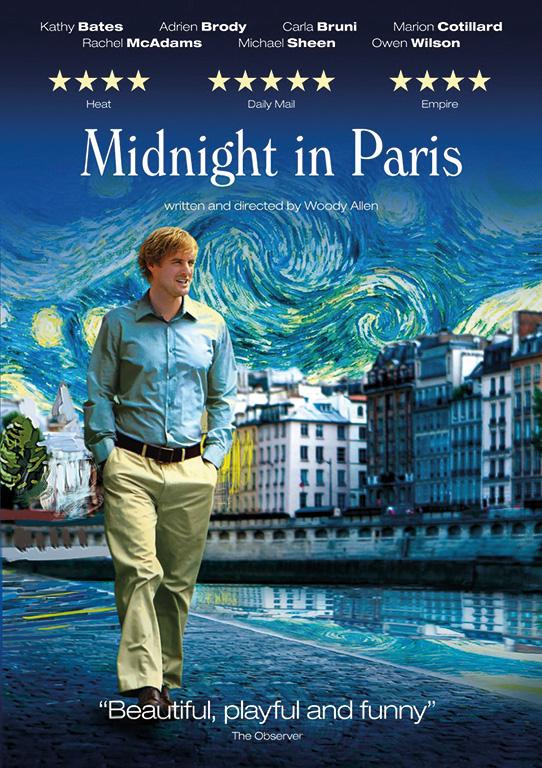 DVD DAMAN Holiday Heartwarmers Midnight in Paris