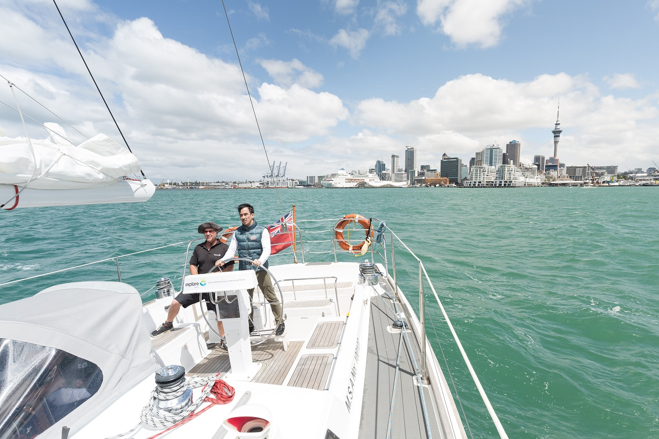 Sailing in Auckland