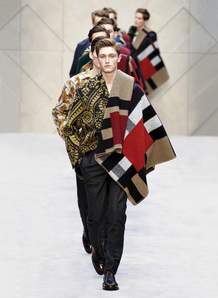 London Fashion Week Fall/Winter 2014/2015 DA MAN Style