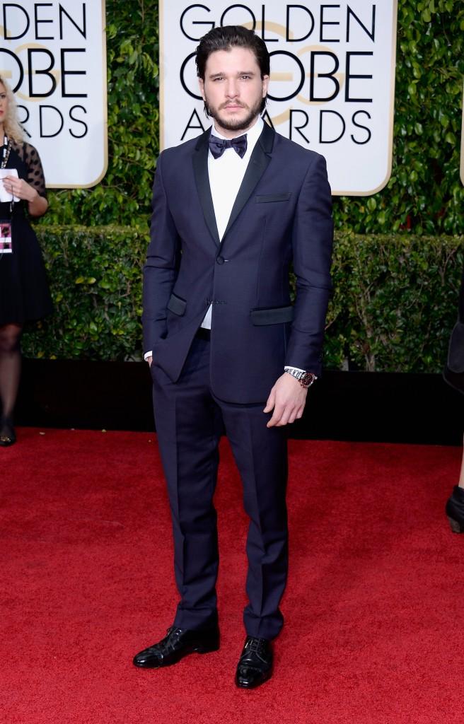 Kit Harington Golden Globes DA MAN