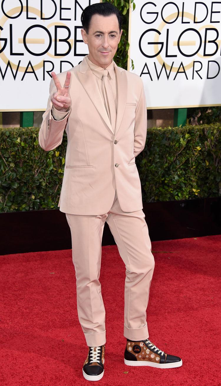Alan Cumming Golden Globes DA MAN