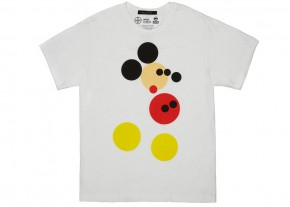 Damien Mickey White T-shirt Marc Jacobs