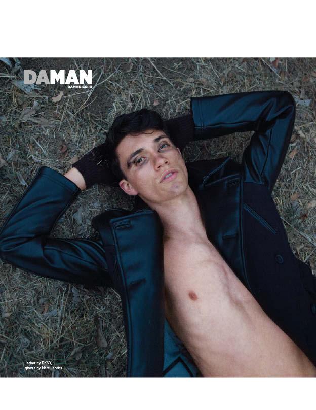 Rebel in the Dark DA MAN Fashion Spread