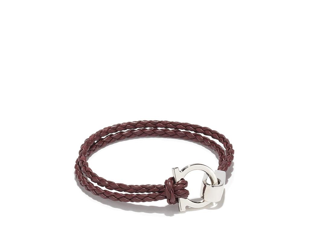 Essential: Salvatore Ferragamo Braided Bracelet