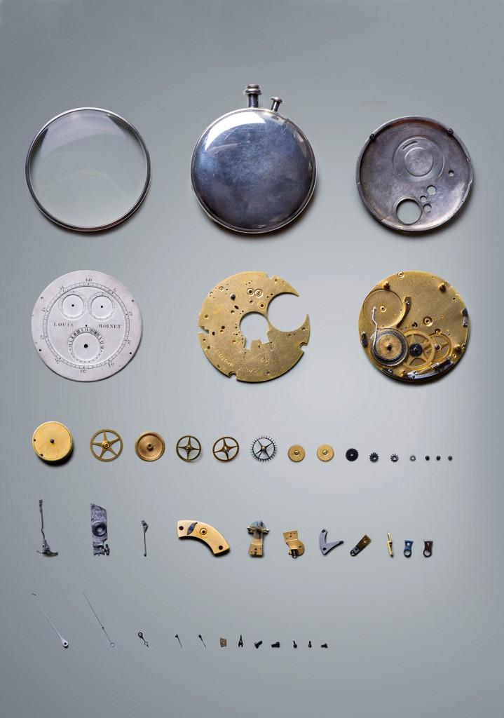 Louis Moinet Mechanism Chronicles of Chronograph DAMAN