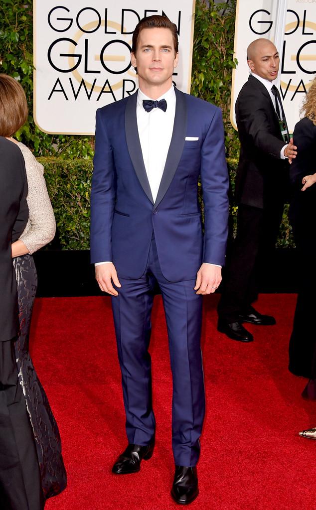 Matt Bomer Golden Globes DA MAN