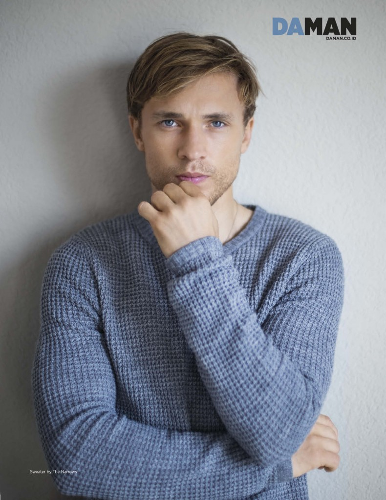 Exclusive Feature William Moseley Raps About Quot The Veil