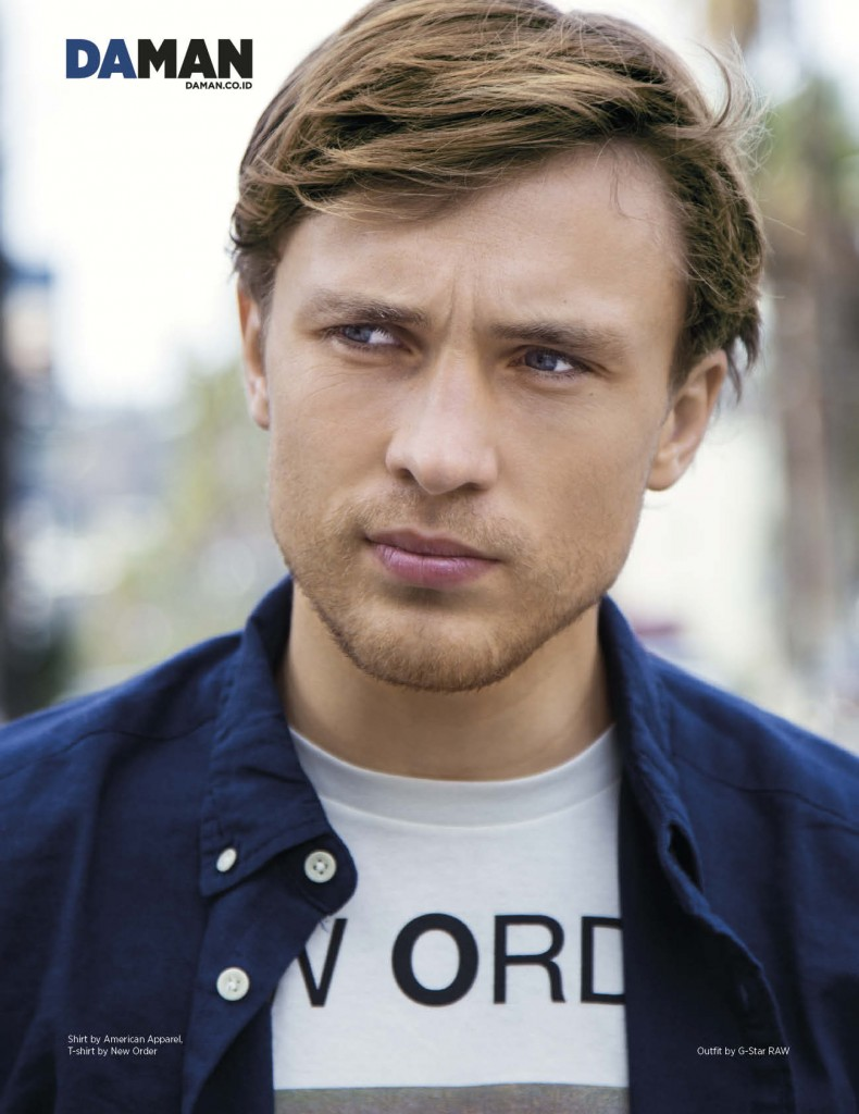 ONLINE FEATURE DA MAN William Moseley January 2015