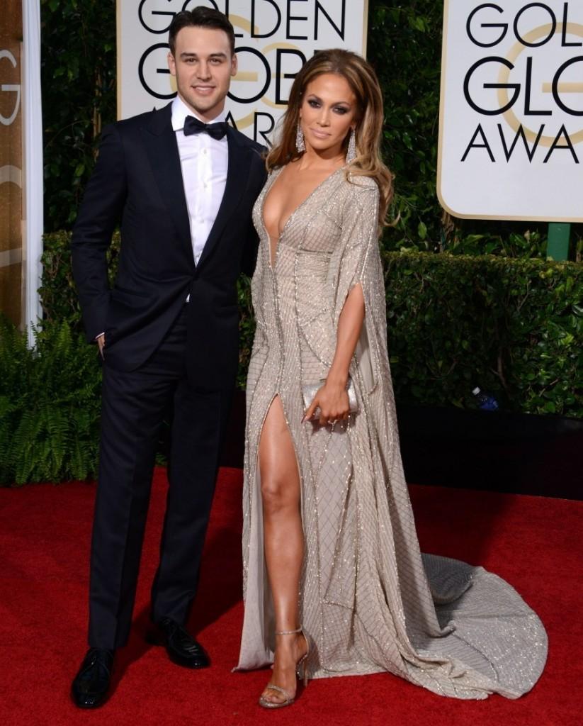 Ryan Guzman Golden Globes DA MAN