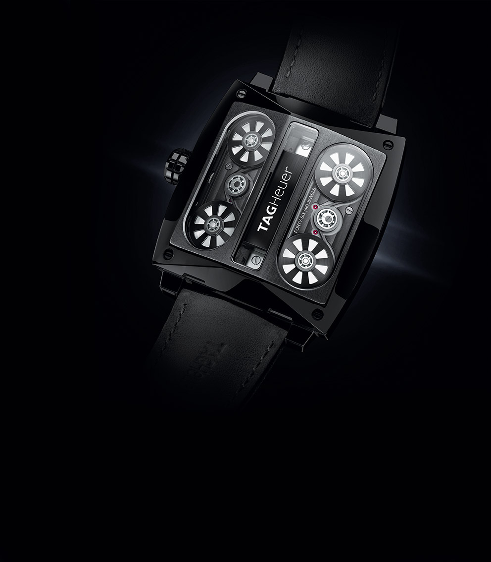 c0720b99036 Watch Lab: TAG Heuer Monaco V4 Tourbillon, the First Tourbillon ...