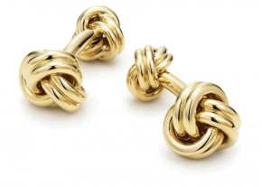 Tiffany & Co Gold Cufflink DA MAN Essential