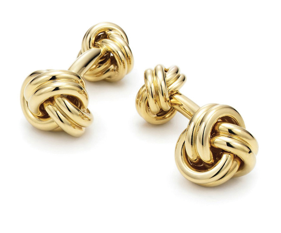 Tiffany & Co Gold Cufflink DA MAN Essential