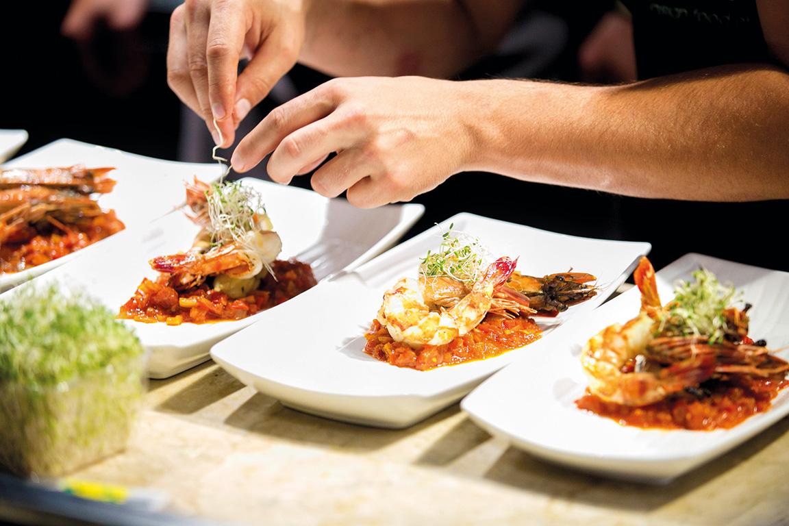 Cuisine chef matt basile shares the recipes of his unique for Cuisine restaurant