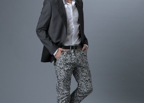 Know How Patterned Trouser