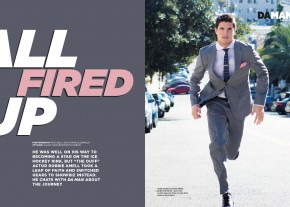"Exclusive Interview: Robbie Amell Talks ""The Duff"" and Switching from Sports to Showbiz"