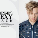 Cover Story : The Face of Calvin Klein is 'Bringing Sexy Back'