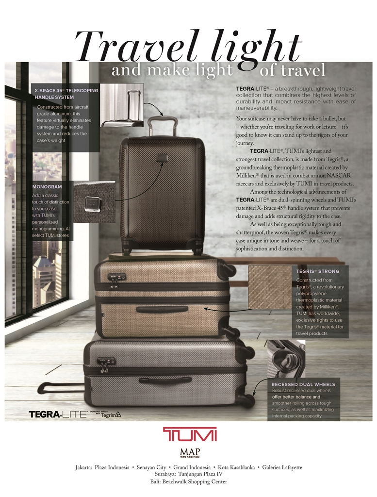 Essential: Tumi's Incredibly Strong and Light Tegra-Lite Suitcases ...