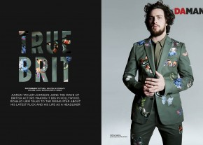 Exclusive Feature : Aaron Taylor-Johnson on The Avengers and the British Invasion