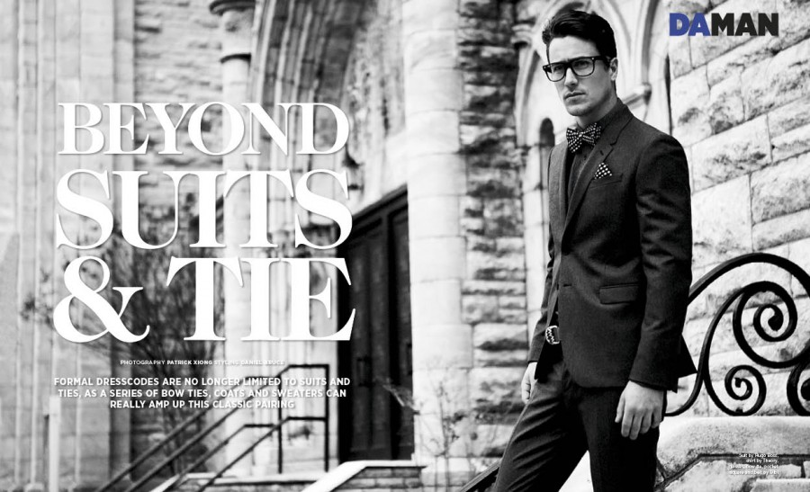 Fashion Spread: Beyond Suit & Tie