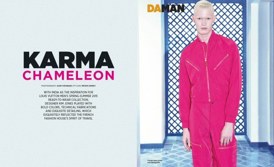 Fashion Spread: Karma Chameleon