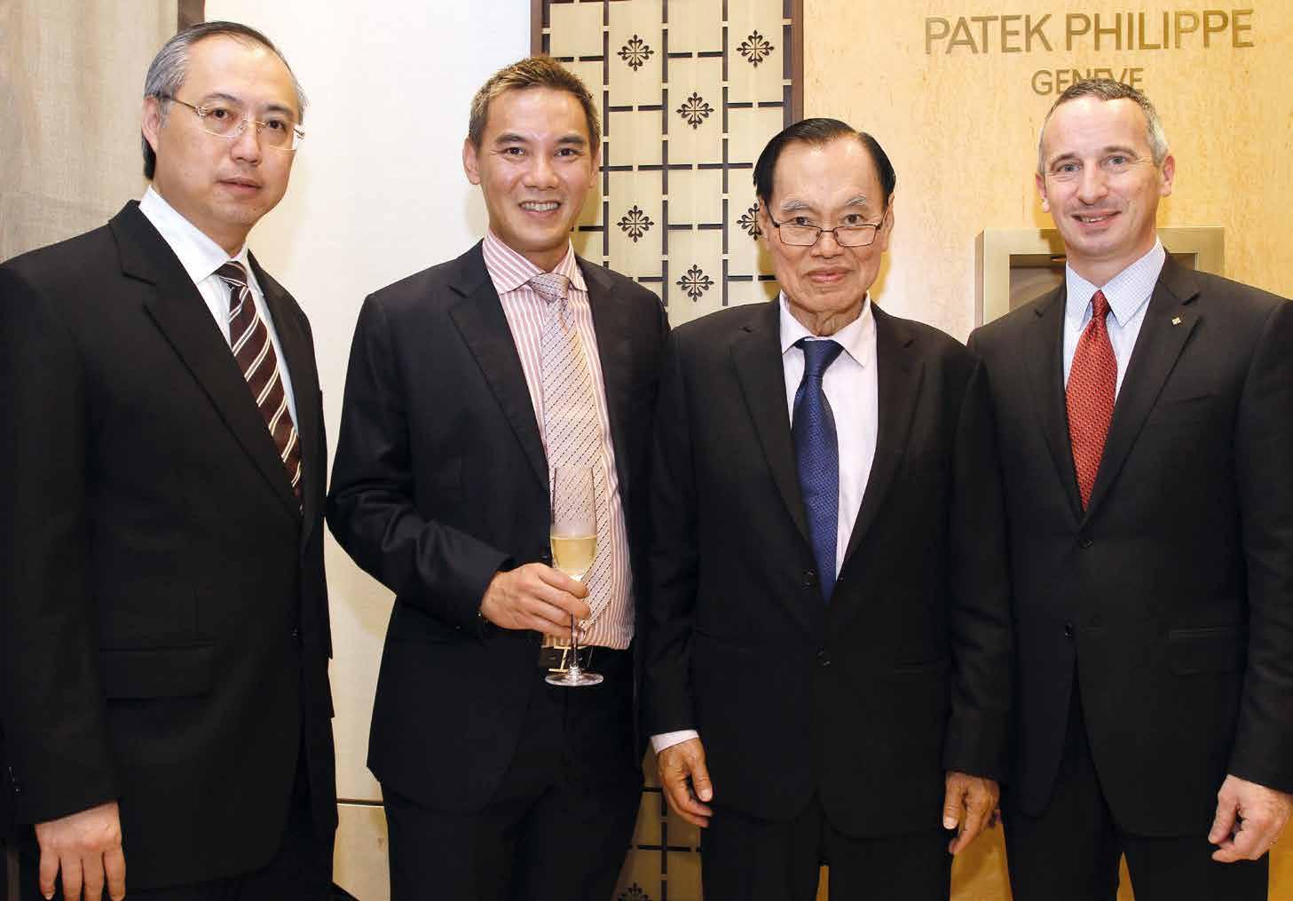 Hernan Wibowo, Jeremy Lin, Antony Lin and Jerone Pernici