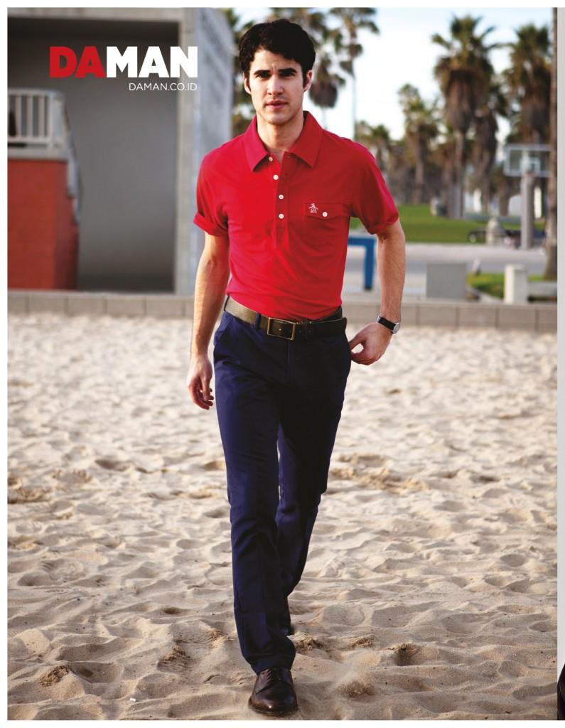 Darren Criss for DA MAN