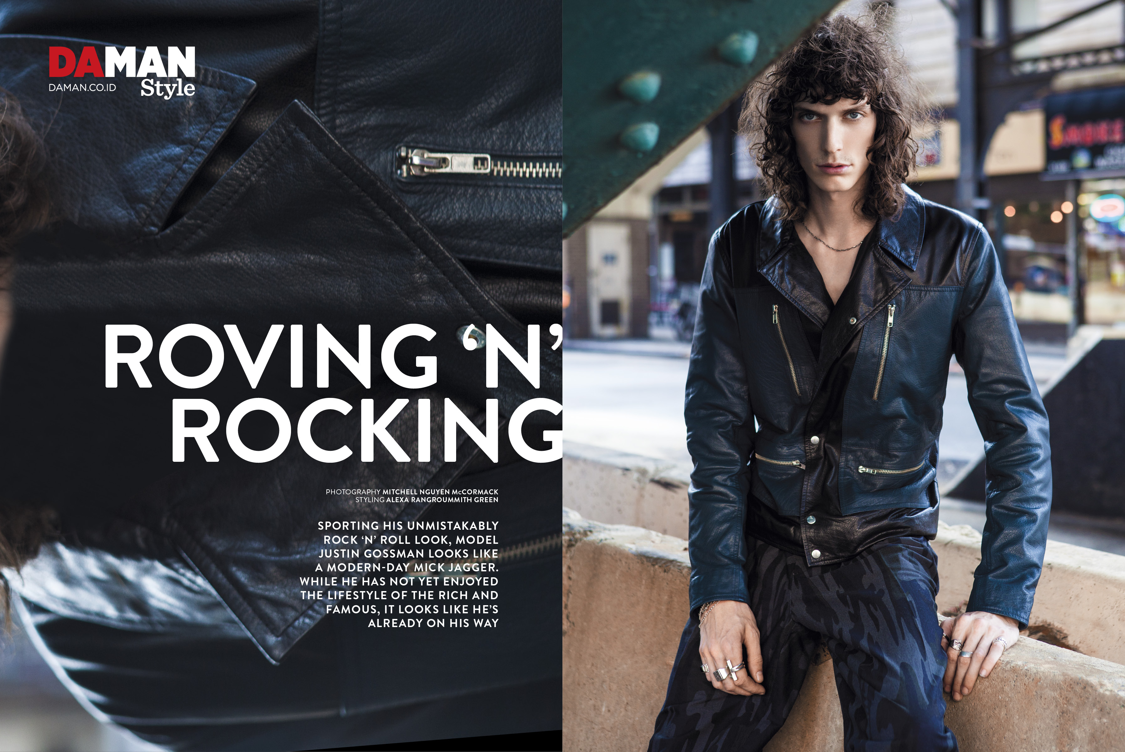 Fashion Spread: Roving N' Rocking