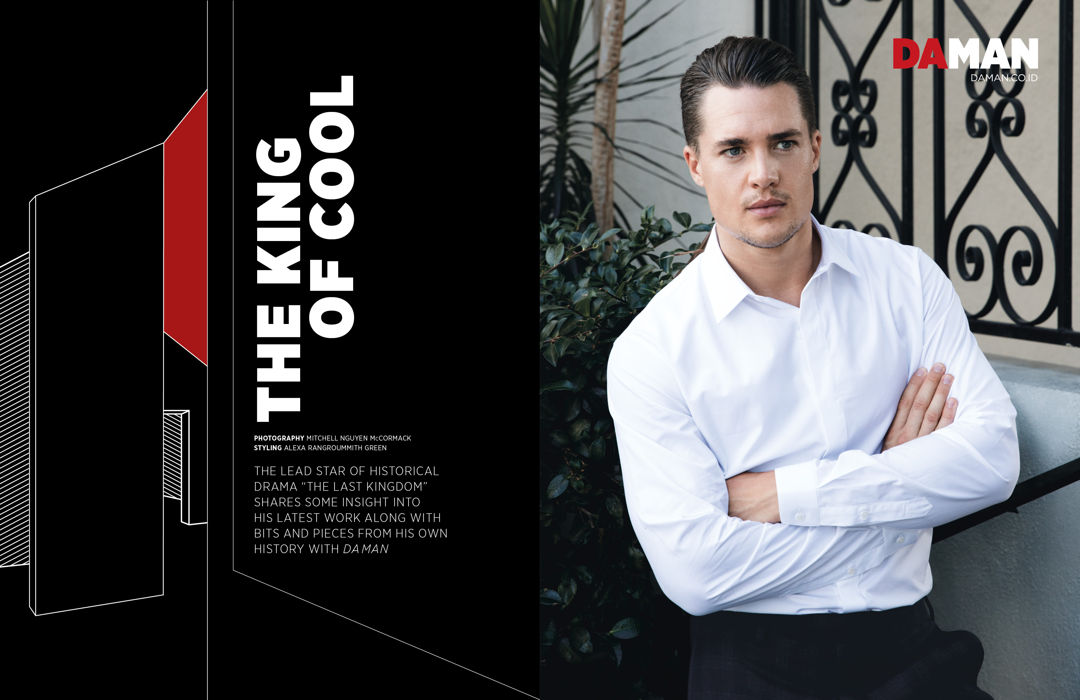 Exclusive Feature: Alexander Dreymon