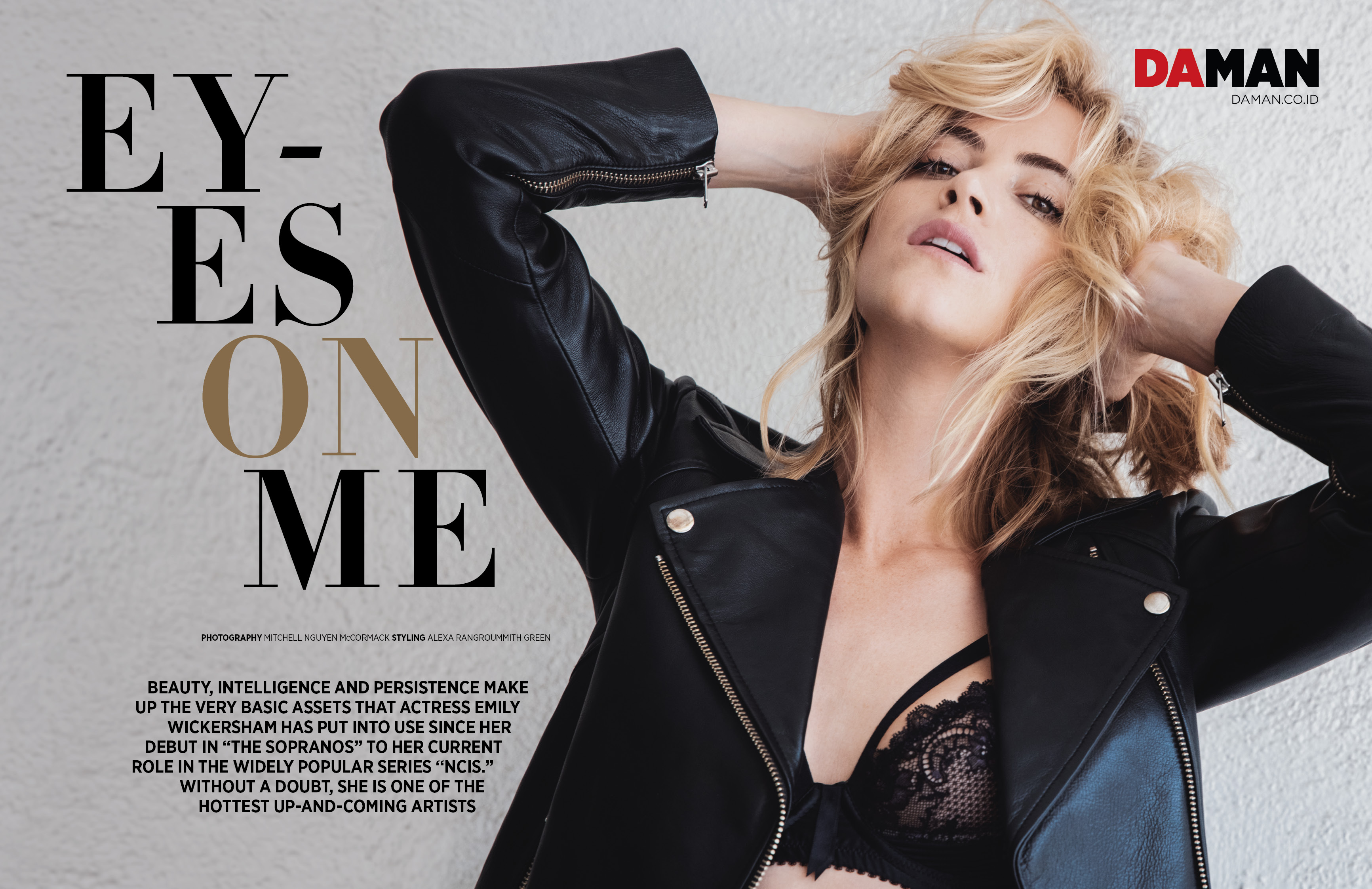 Exclusive Feature: Emily Wickersham