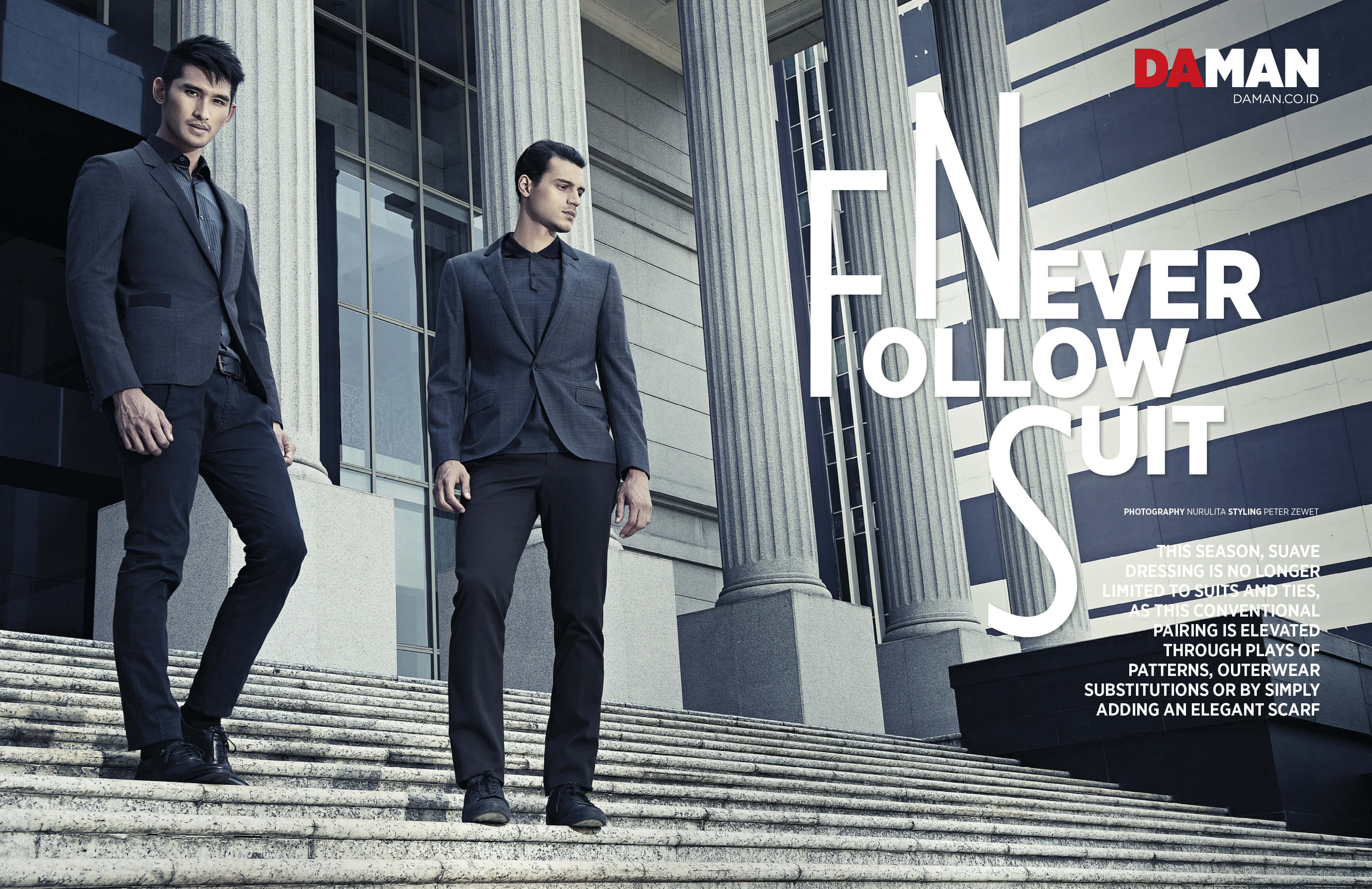 Fashion Spread: Never Follows Suit