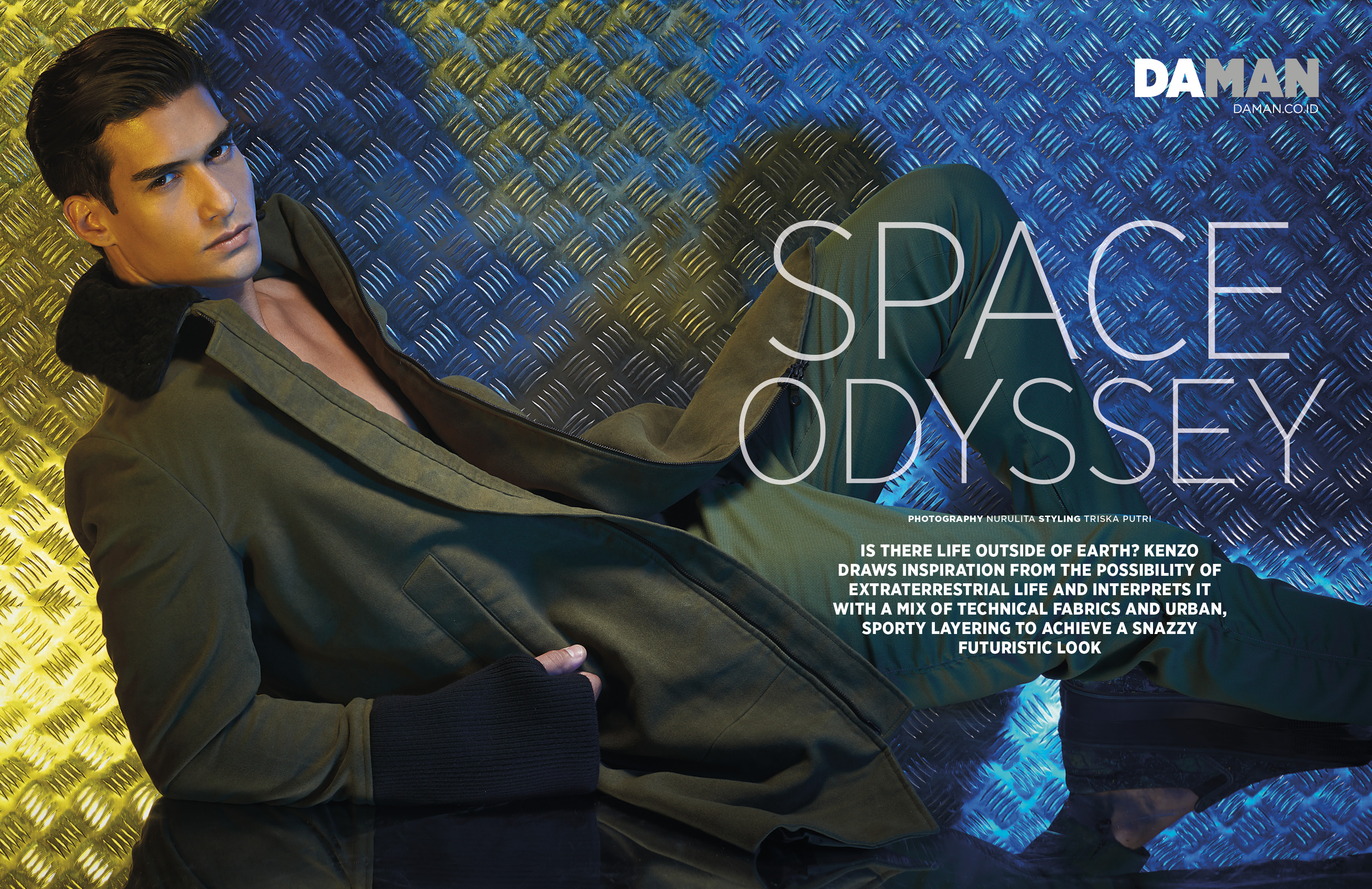 Fashion Spread: Space Odyssey