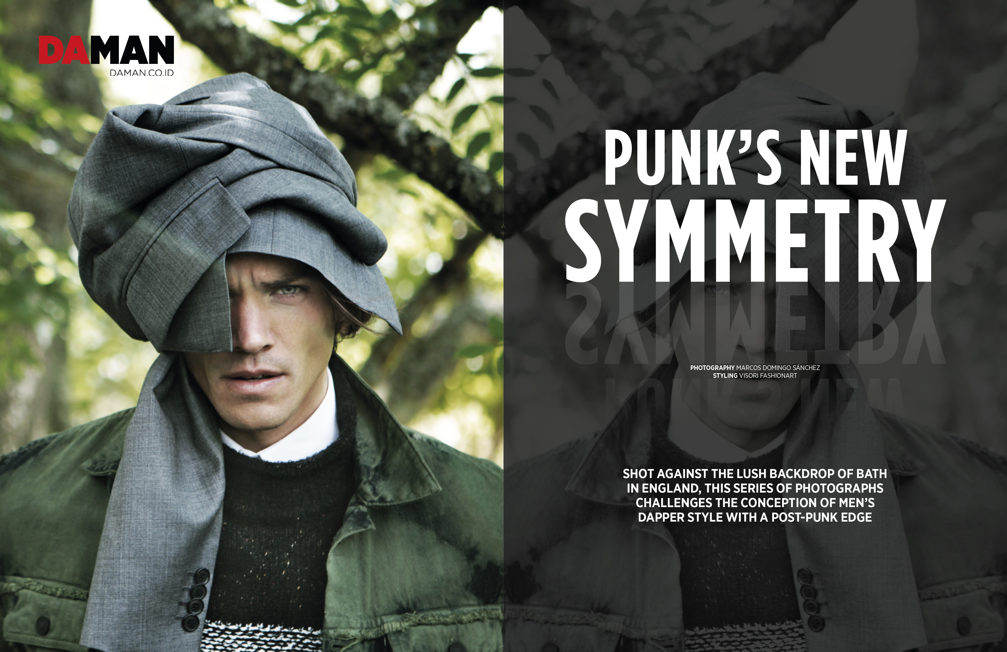 Fashion Spread: Punk's New Symmetry